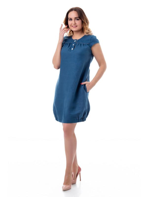 Изображение Платье 14-17 синий