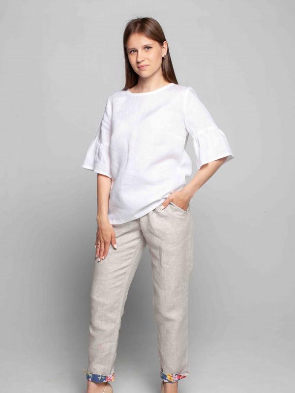 Изображение Блуза 4-242 белая